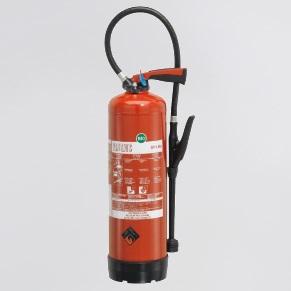 Feuerlöscher Schaum