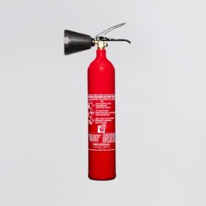 Feuerlöscher CO², 2 kg